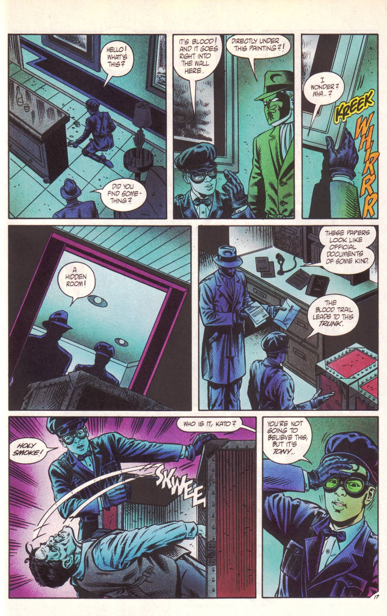 Read online Sting of The Green Hornet comic -  Issue #1 - 18