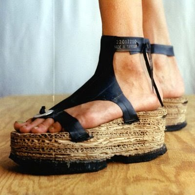 Indie Fashion And Beauty Recycled Diy Tire Sandles