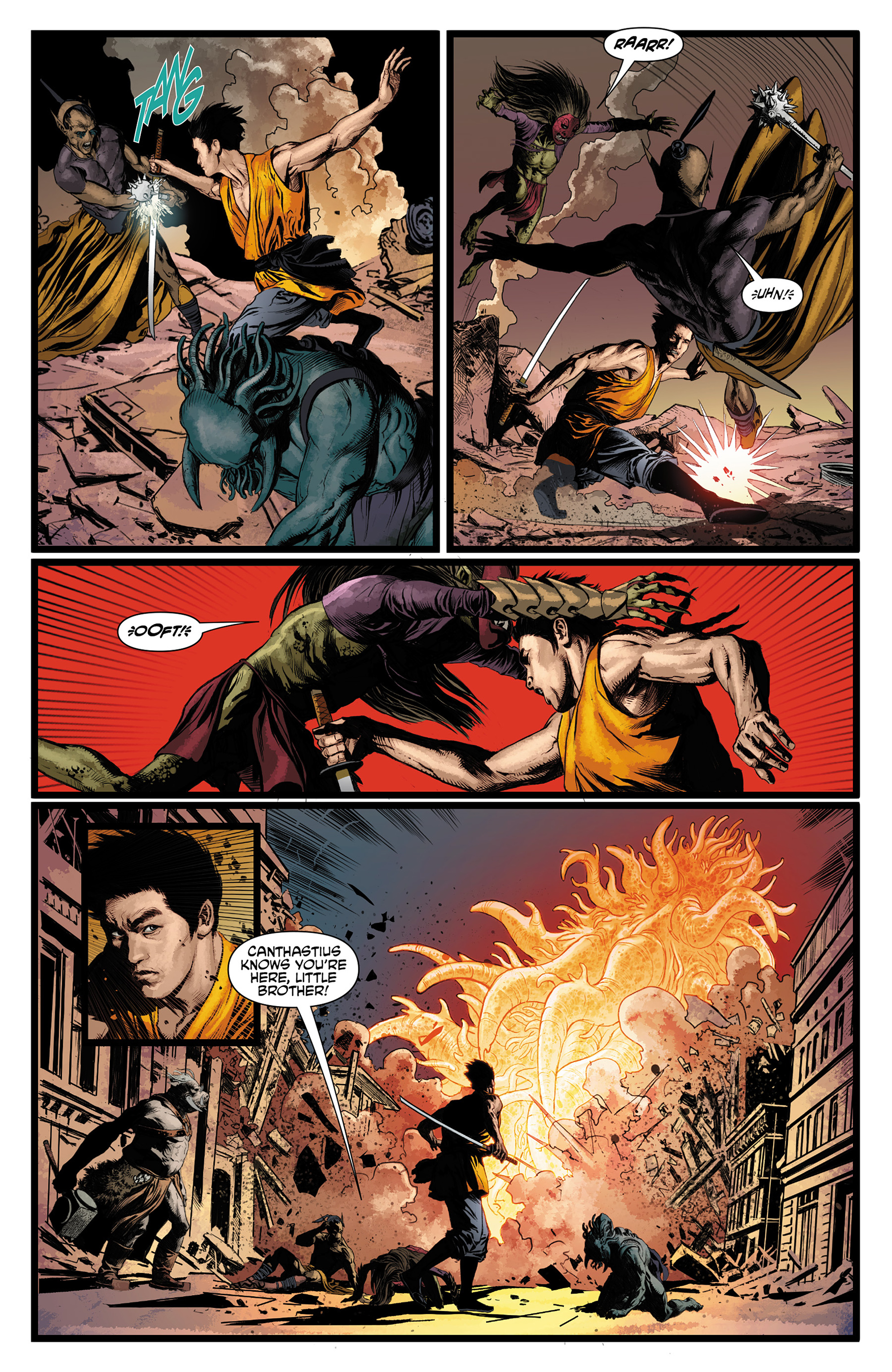 Read online King Tiger comic -  Issue #3 - 16
