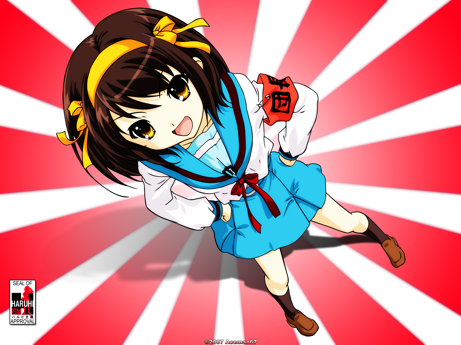 Anime Girl Wallpapers Haruhi Suzumiya Wallpaper Pack