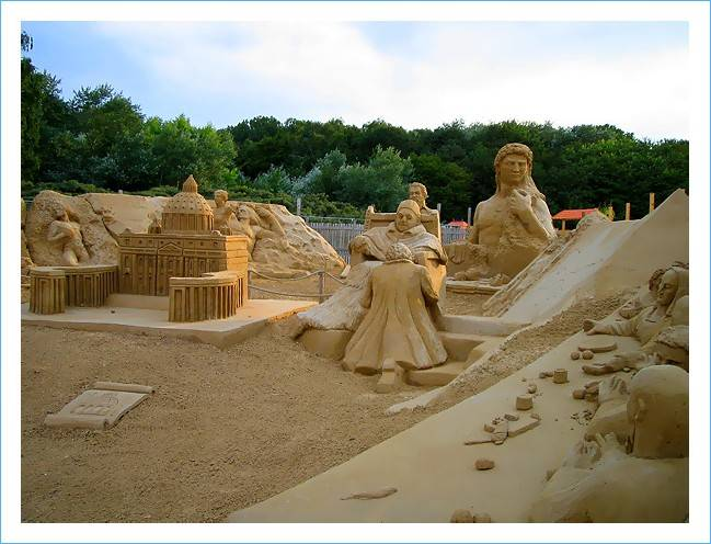 Astonishing Sand Art