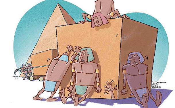 Resultado de imagem para piramides construção fotos