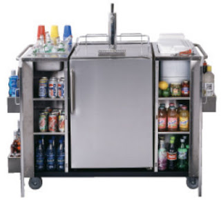 Outdoor Cart Refrigerator Included Beer Cooler Summit Refrigerators Cartosbc