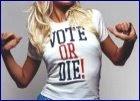 Paris says: VOTE OU MORRA!