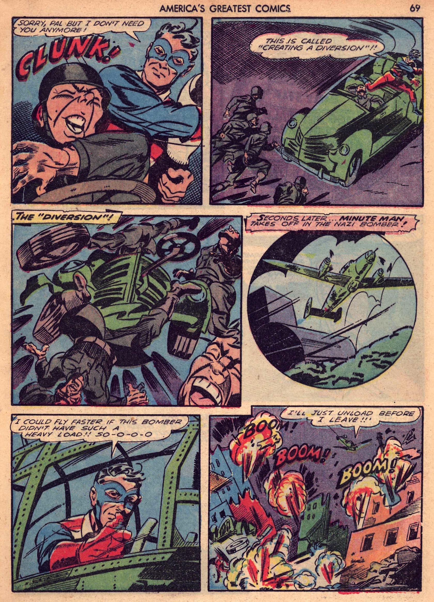 Read online America's Greatest Comics comic -  Issue #7 - 68