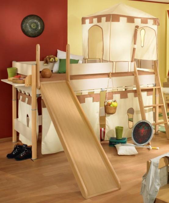 Cool Room Designs For Kids: Interior Design: Camas Para Niños Muy Divertidas