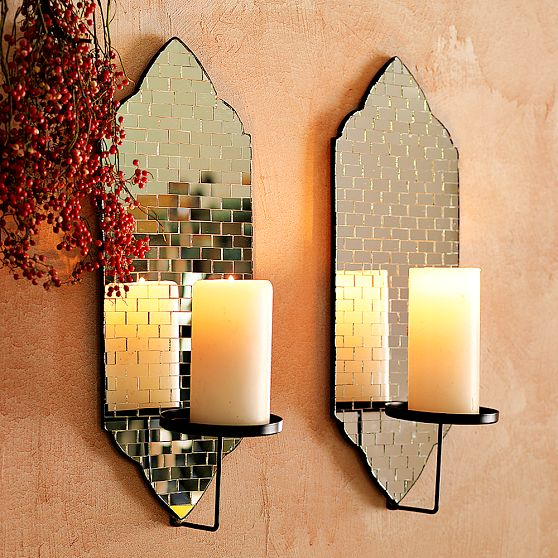 Dose of Design: My Latest Purchase - Mosaic sconces