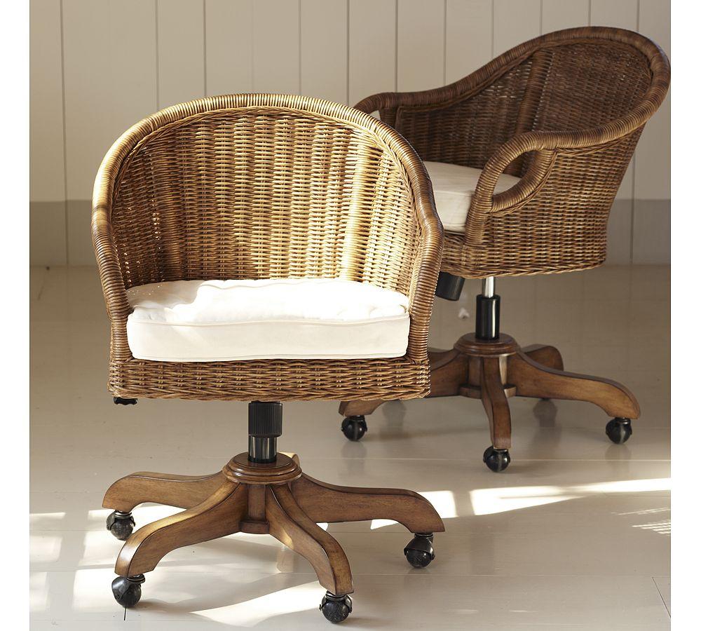 Dose of Design Love it  Woven desk chair
