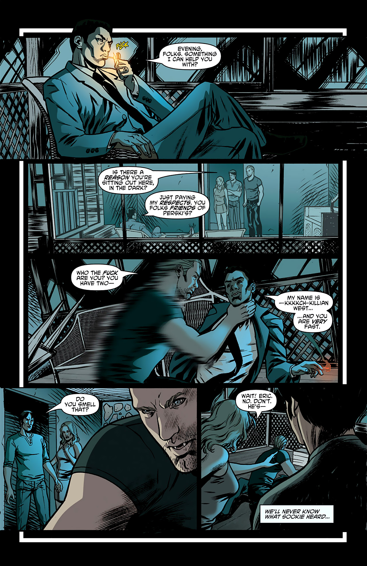 Read online True Blood: French Quarter comic -  Issue #1 - 24