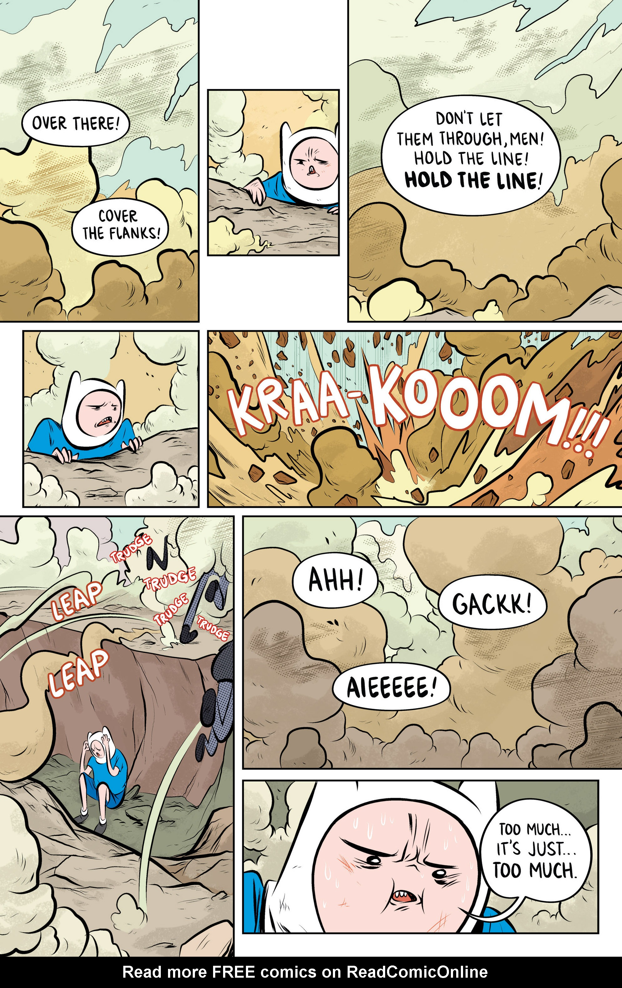 Read online Adventure Time: The Flip Side comic -  Issue #4 - 7