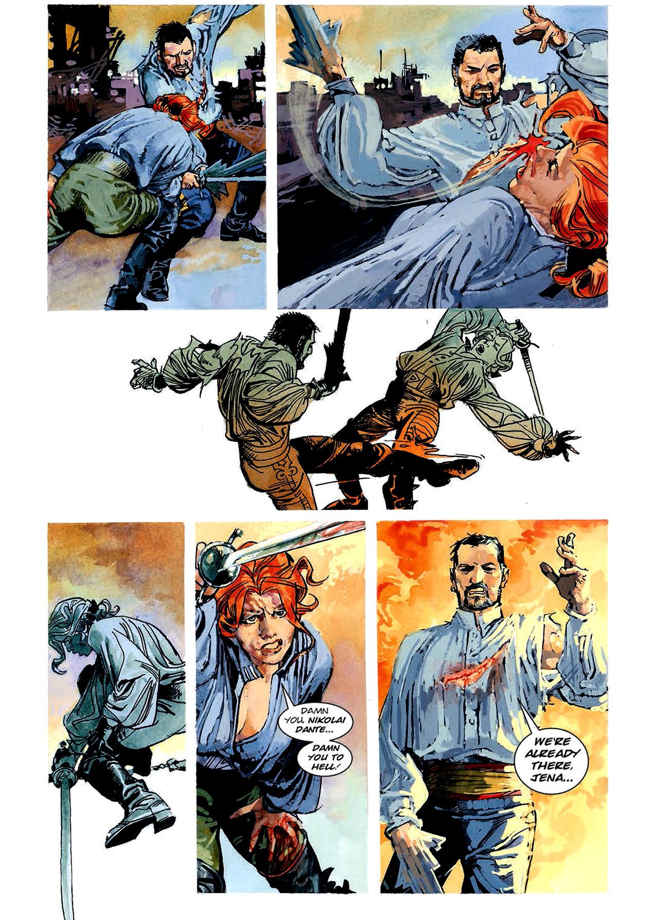 Read online Nikolai Dante comic -  Issue # TPB 4 - 98