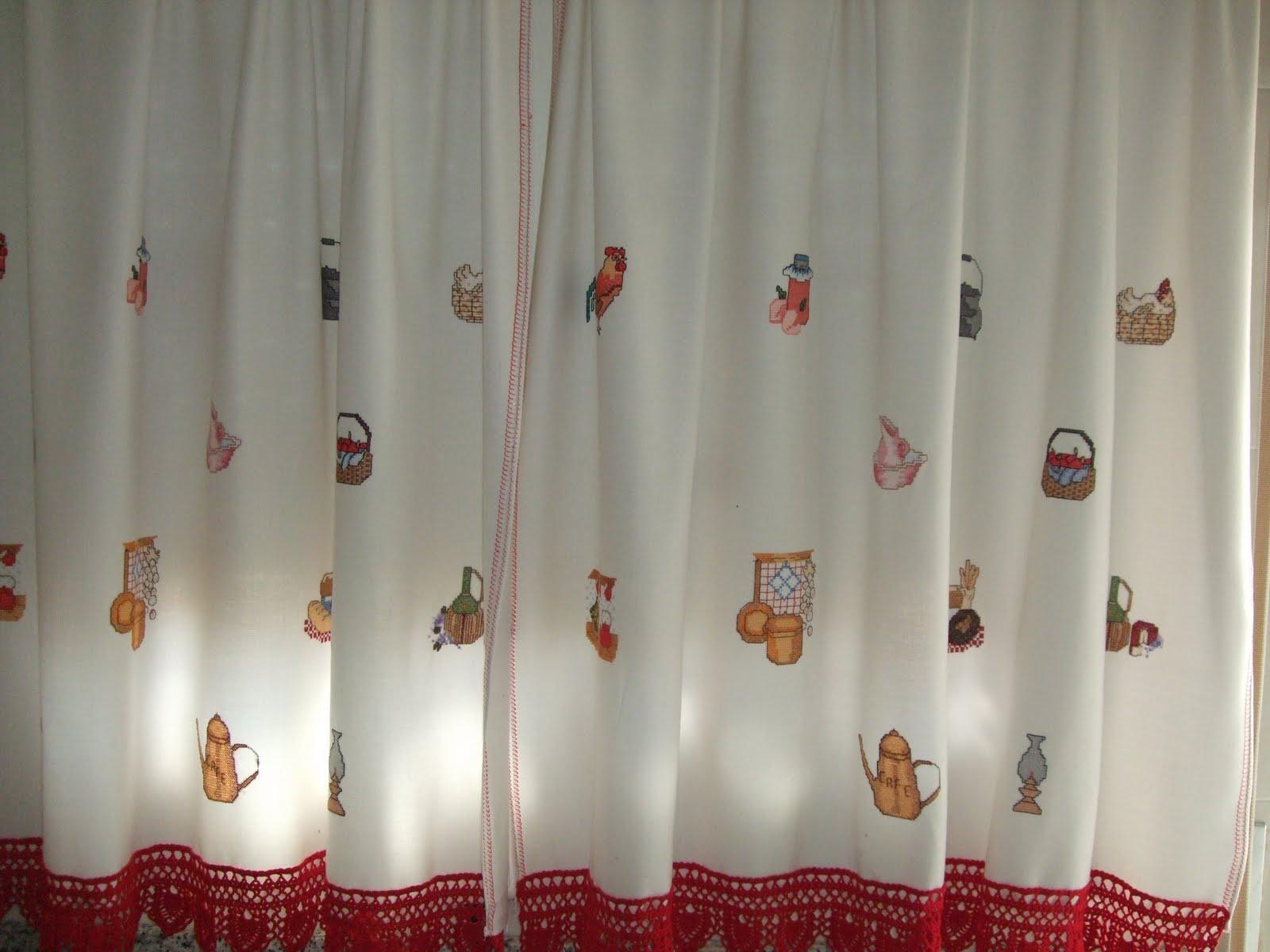 El Gorrin Laborioso Las cortinas de la cocina