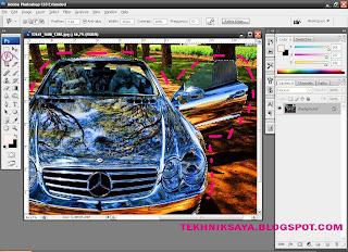 Cara Menerangkan Kontras Gambar Satu Objek dengan Photoshop