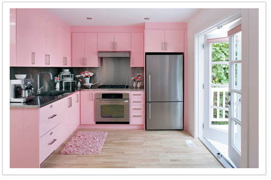All Pink Kitchen bright pink kitchen | all about kitchen and recipe