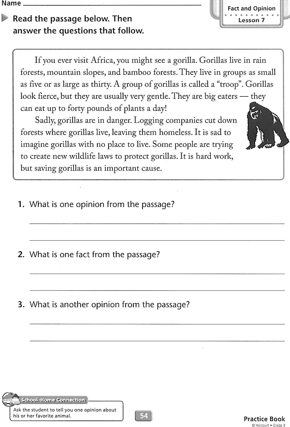 Homework help for third graders