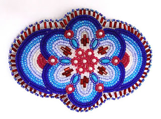 Native Alaskan beaded barrette, collection of Kathy Hinkle