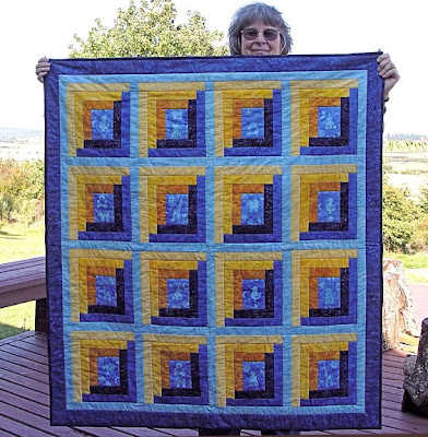 baby quilt by Robin Atkins