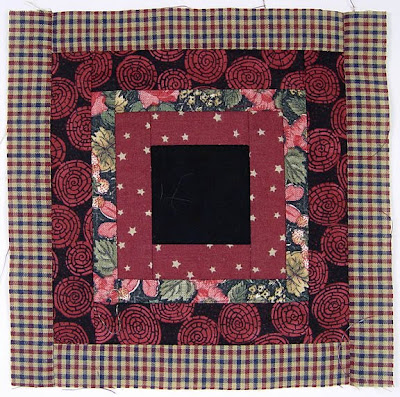 God's Eye Quilt, block 8, by Robin Atkins