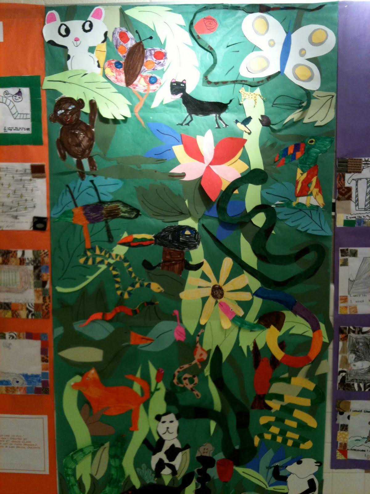 Pink And Green Mama Art History Henri Rousseau Jungle