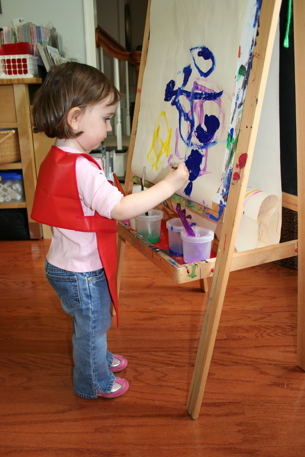Pink And Green Mama Making Art At Home My Favorite Art