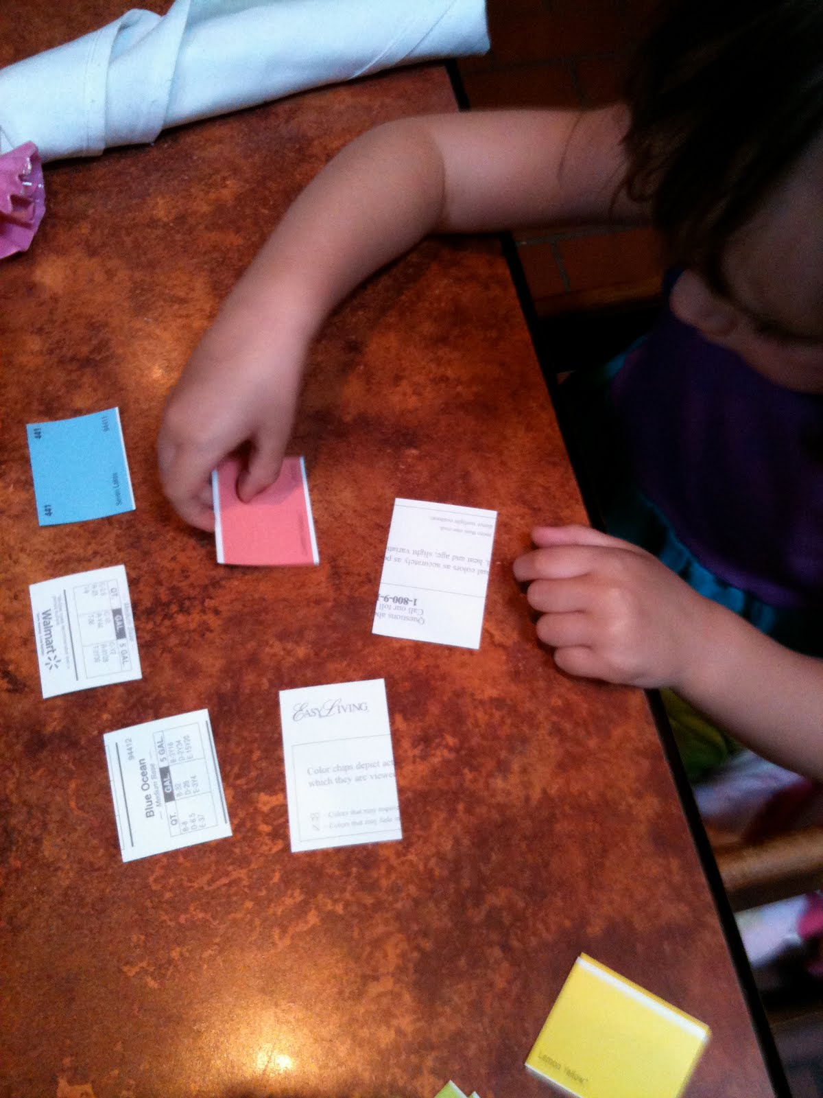 Pink and Green Mama: DIY Paint Chip Game - FREE Game to Entertain ...