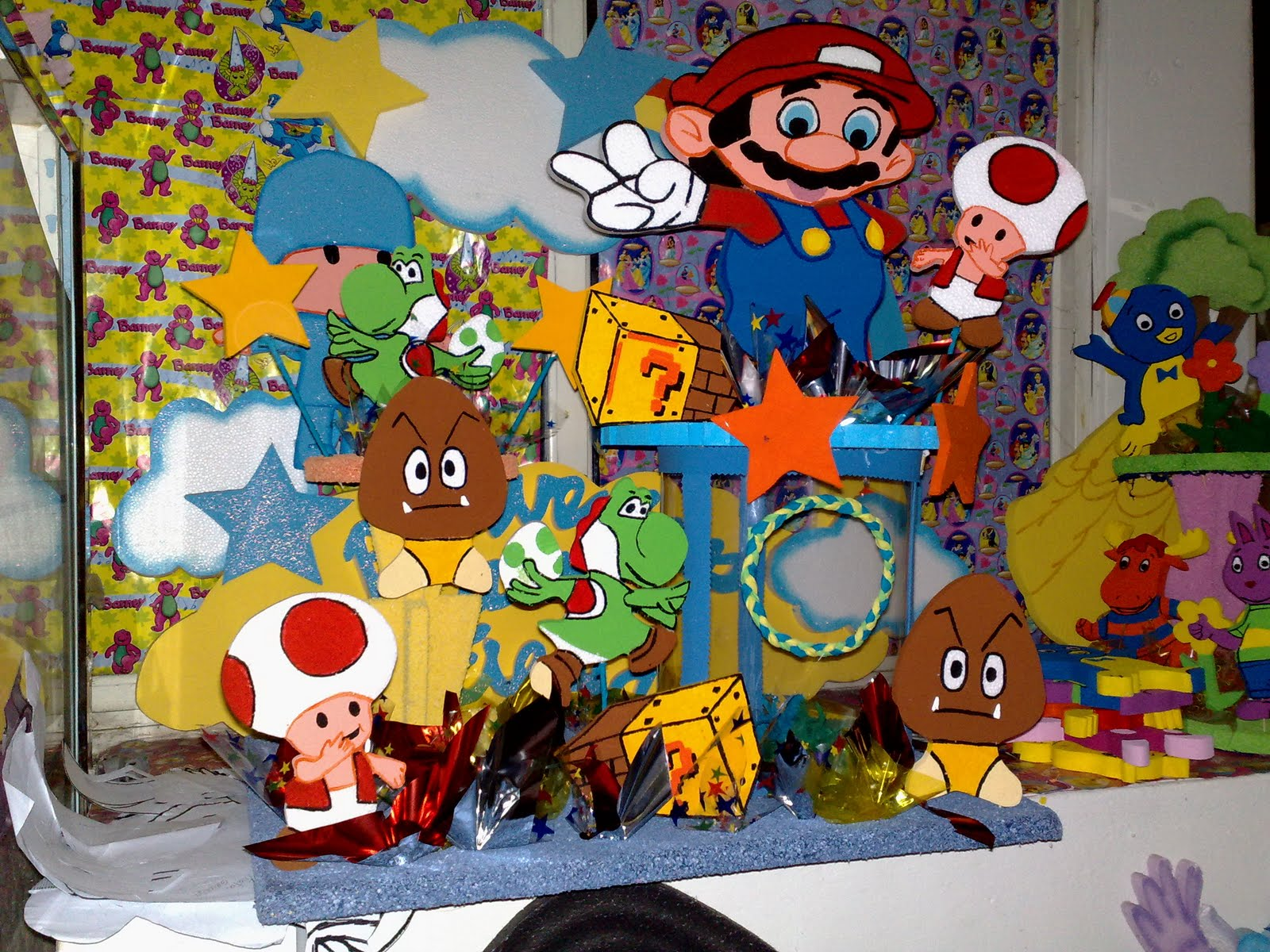 Bross'net Decoracion De Mario Bros Car Interior Design