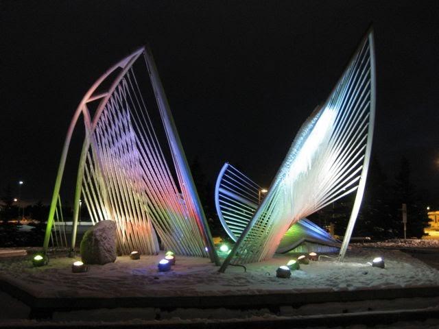 ec859727 What Do I Know?: Carl Nesjar's Anchorage Ice Fountain