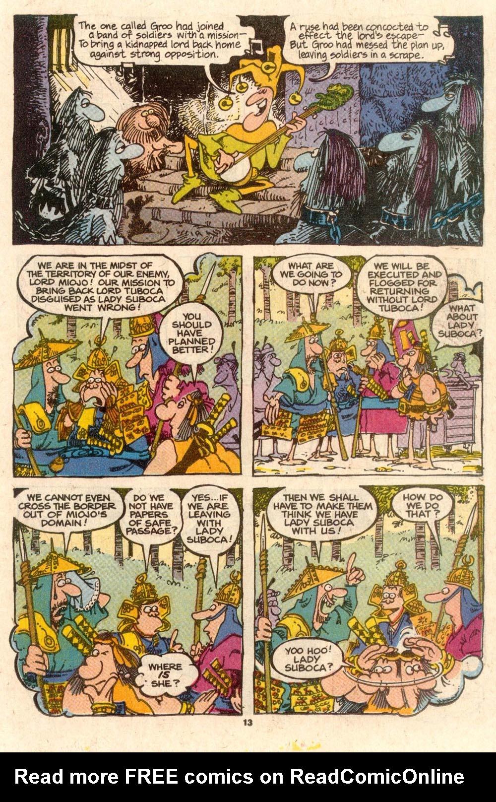 Read online Sergio Aragonés Groo the Wanderer comic -  Issue #56 - 12