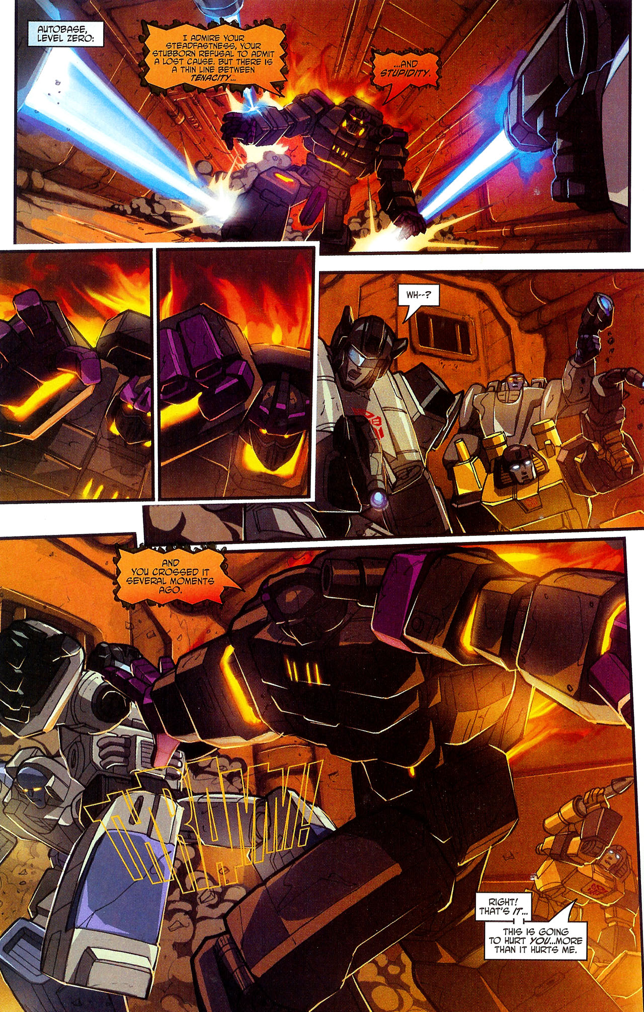 """Read online Transformers War Within: """"The Dark Ages"""" comic -  Issue #5 - 16"""