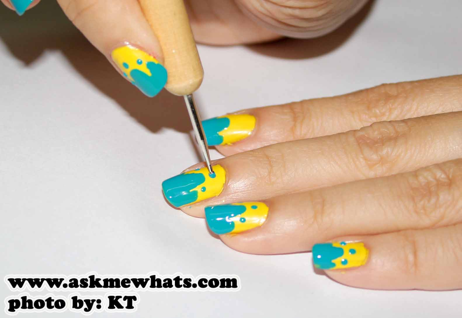 Enchanting Nail Polish Designs With Toothpick Step By Picture