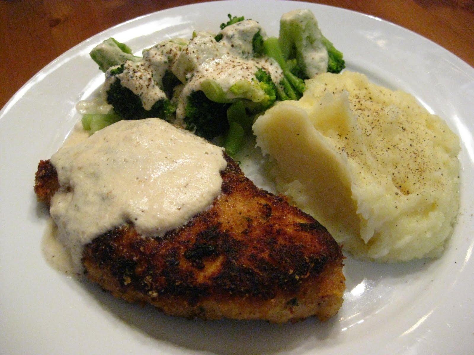 Chicken Broccoli Mashed Potato Casserole