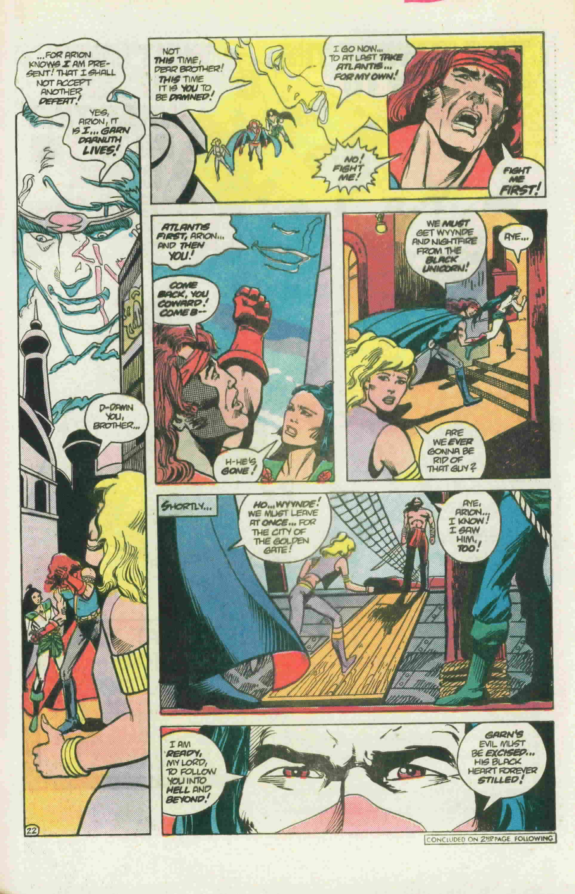 Read online Arion, Lord of Atlantis comic -  Issue #22 - 31