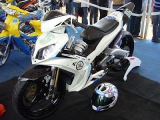 Modifikasi Motor Jupiter Mx 2009