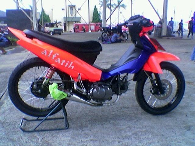 Suzuki Shogun Racing Modifikasi  Modif Motor