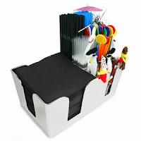 Chrome Bar Caddy Starter Kit
