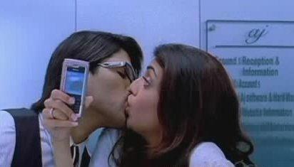 Kajal Agarwal Hot Lip Lock