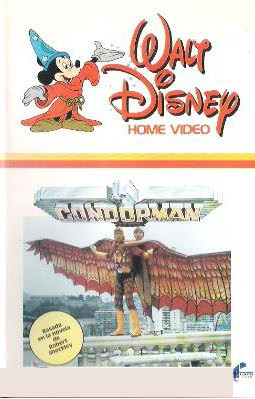 Condorman, Michael Crawford, Barbara Carrera, Disney