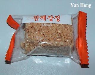 南韩谷类零食