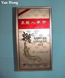 南韩人参茶