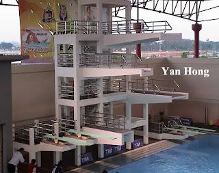 Hang Jebat Aquatic Stadium