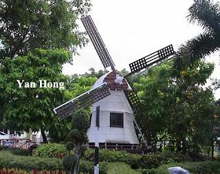 荷兰风车魅力非凡