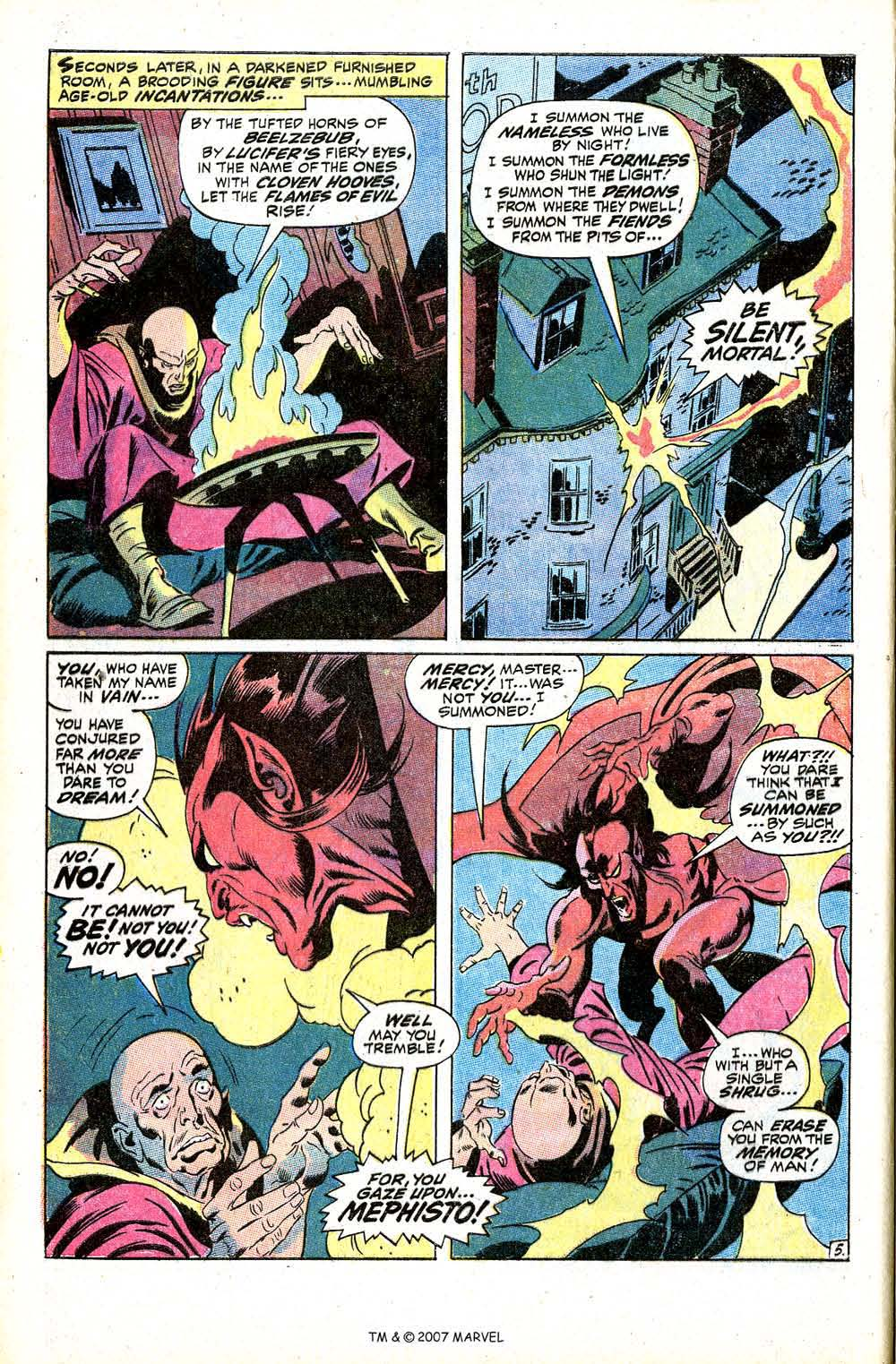 Read online Silver Surfer (1968) comic -  Issue #8 - 8