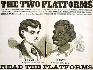 Crude historical depictions of African Americans