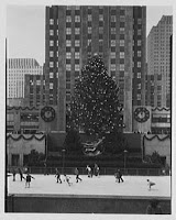 Rockefeller Center. Skaters and Christmas tree. REPRODUCTION NUMBER:  LC-G613-T-44563, Library of Congress Prints and Photographs Division.