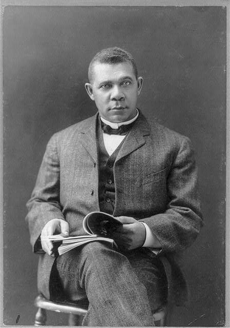 Booker T. Washington, Library of Congress, Prints & Photographs Division, [reproduction number, LC-USZ62-49568