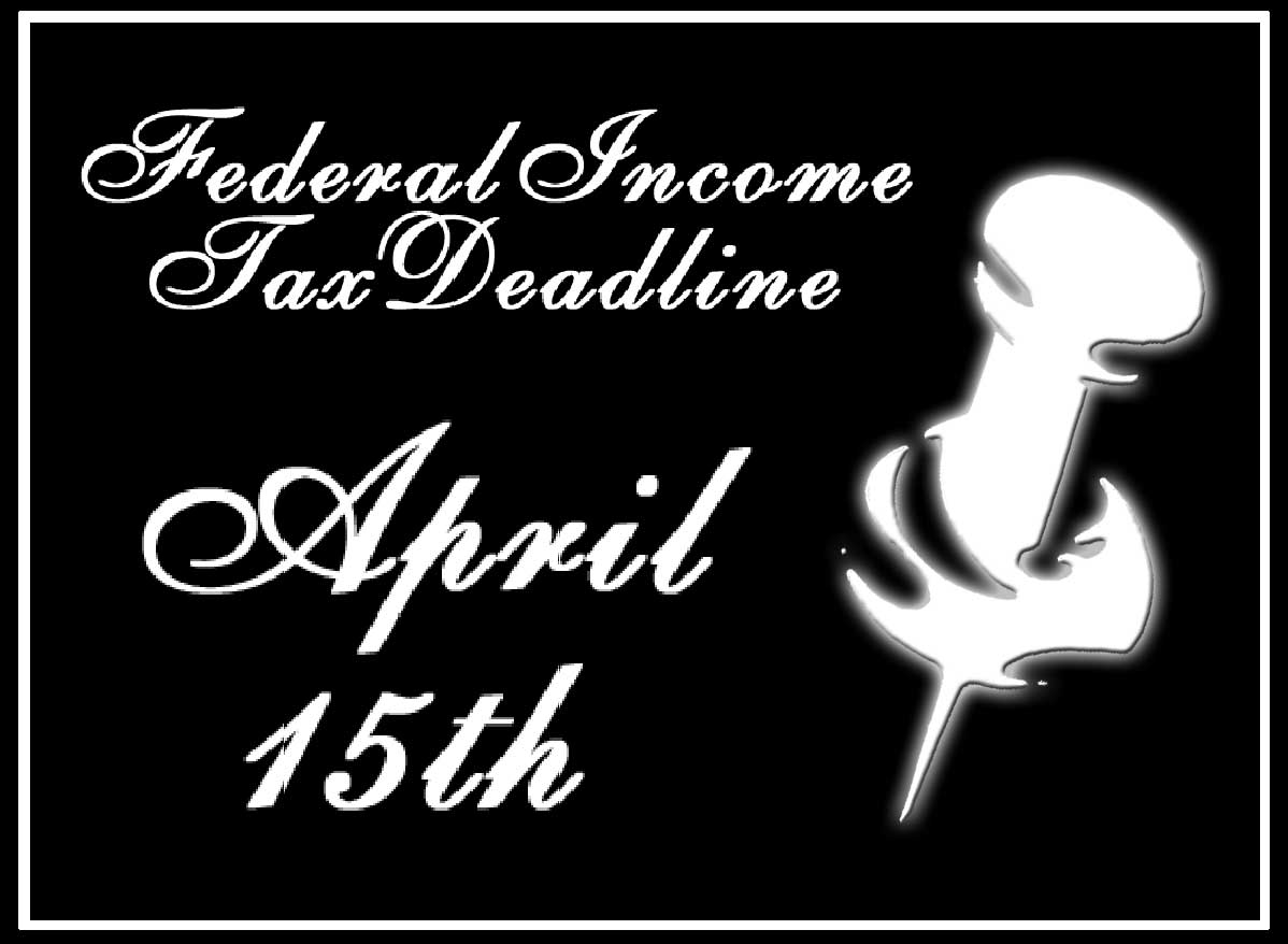 Federal Income Tax Deadline