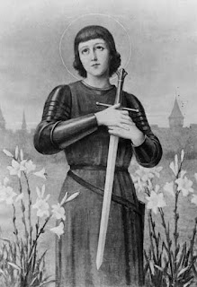 Joan of Arc, Saint, 1412-1431, Reproduction Number: LC-USZ62-121205, Library of Congress Prints and Photographs Division