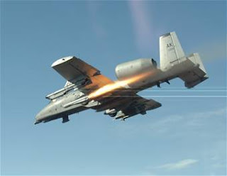 A-10 Thunderbolt II, (U.S. Air Force photo/Master Sgt. Robert Wieland)