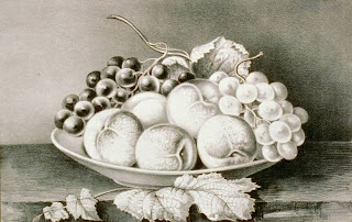 Credit Line: Library of Congress, Prints & Photographs Division, [reproduction number, LC-USZC2-2665], Currier & Ives Fruit Bowl Still Life