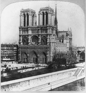 Notre Dame Cathedral, Paris, France, Credit Line: Library of Congress, Prints & Photographs Division, [reproduction number, LC-USZ62-69838]